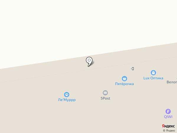Амбарчик на карте Ставрополя