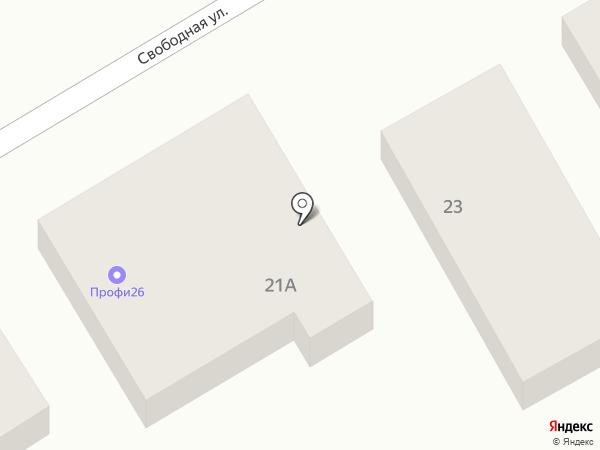 СтавГабион+ на карте Ставрополя
