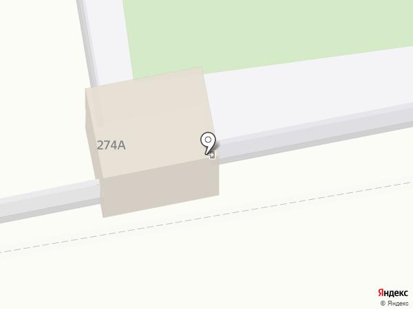 Акварель на карте Ставрополя