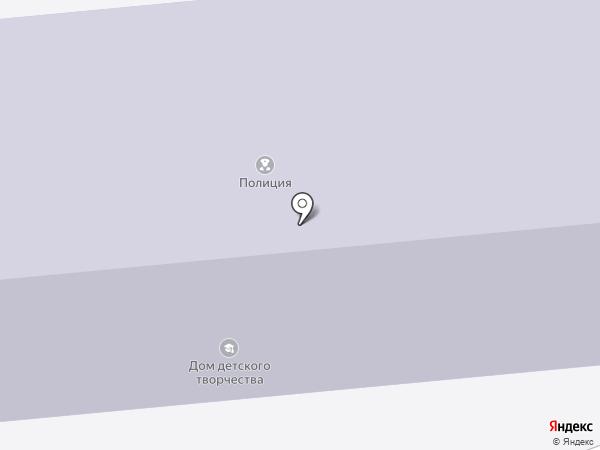 Дом детского творчества на карте Ставрополя