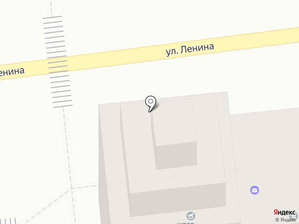 Киоск по продаже хлебобулочных изделий на карте Ставрополя