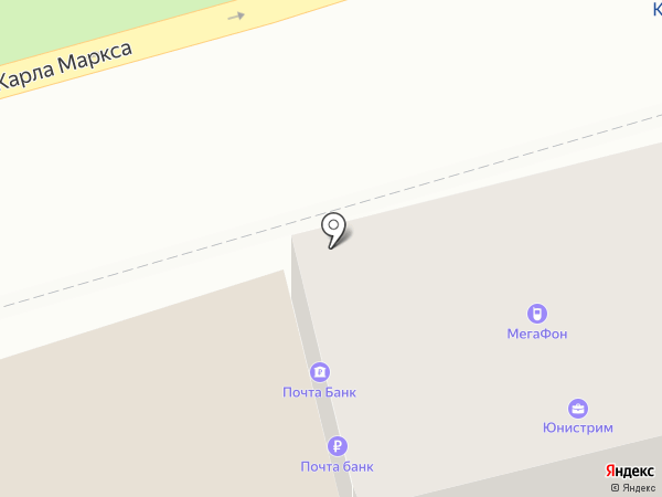 Почта банк, ПАО на карте Ставрополя
