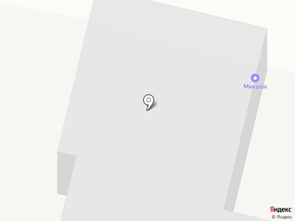 Микрон на карте Ставрополя