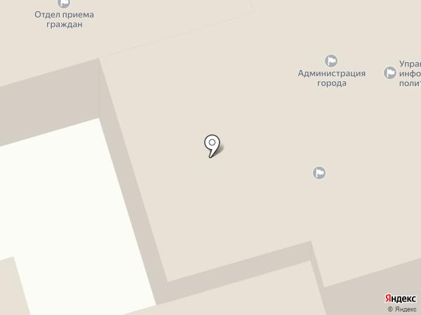 Ставропольская городская Дума на карте Ставрополя