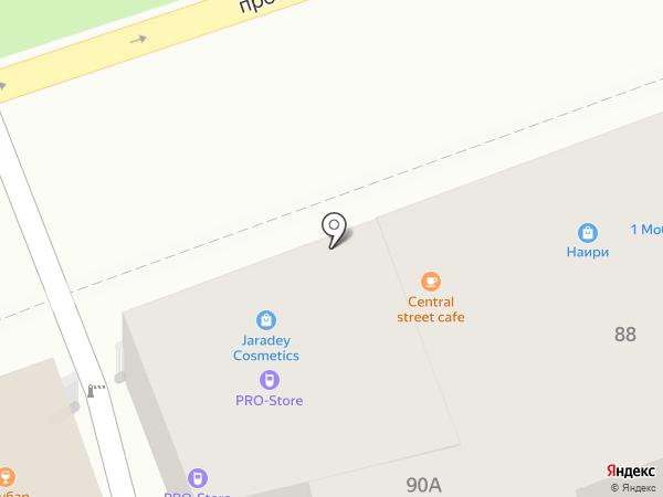 Кеш Поинт на карте Ставрополя