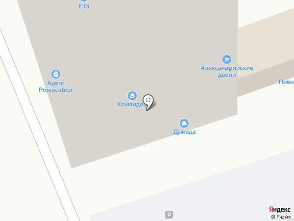 СКФО-Агро на карте Ставрополя