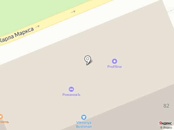 Гиппократ на карте Ставрополя