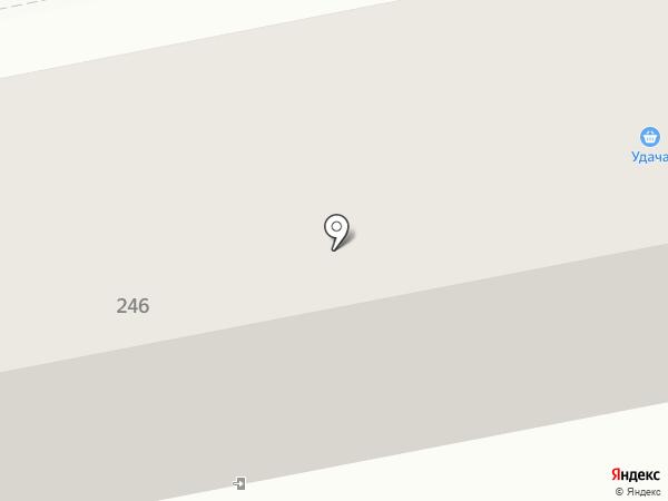 Удача на карте Ставрополя