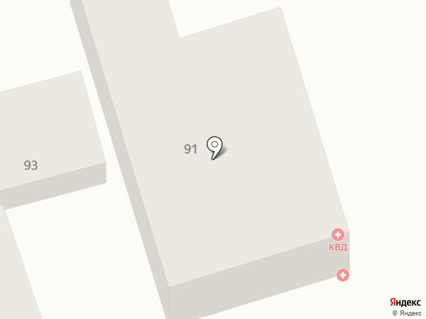 Краевой клинический кожно-венерологический диспансер на карте Ставрополя