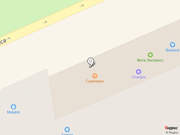 Росденьги на карте Ставрополя