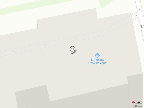 Современник на карте Ставрополя