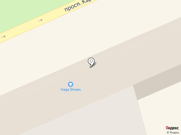 Федерация бильярдного спорта Ставропольского края на карте Ставрополя