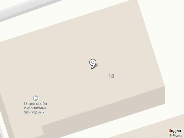 Управление строительного контроля и строительства сооружений природоохранного назначения на карте Ставрополя