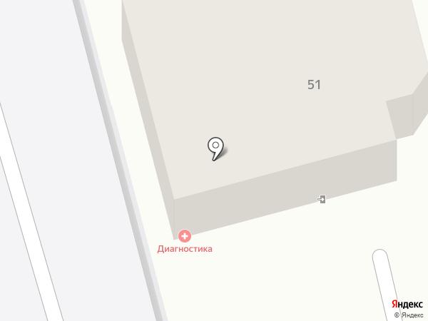 Офтальмологический кабинет на карте Ставрополя