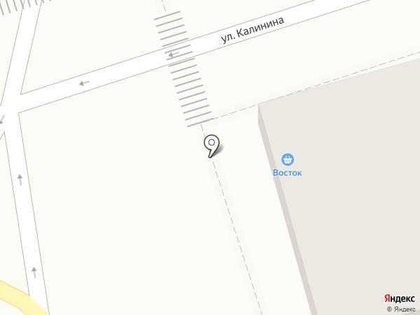 Цветочный магазин на карте Ставрополя
