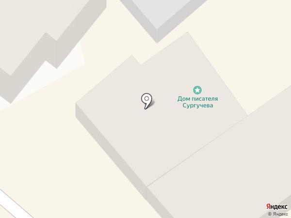 Студент на карте Ставрополя