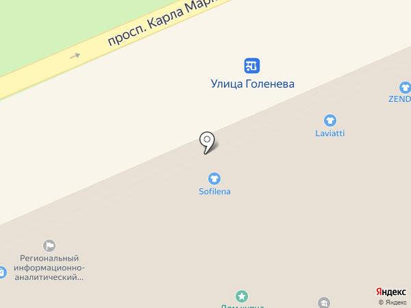 Региональный расчётный центр Ставропольского края, ГУП на карте Ставрополя