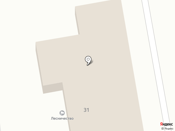 Ставропольское городское лесничество на карте Ставрополя
