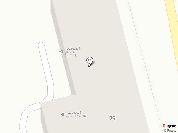Бриг на карте Ставрополя