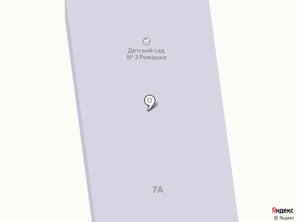 Детский сад №3 на карте Ставрополя