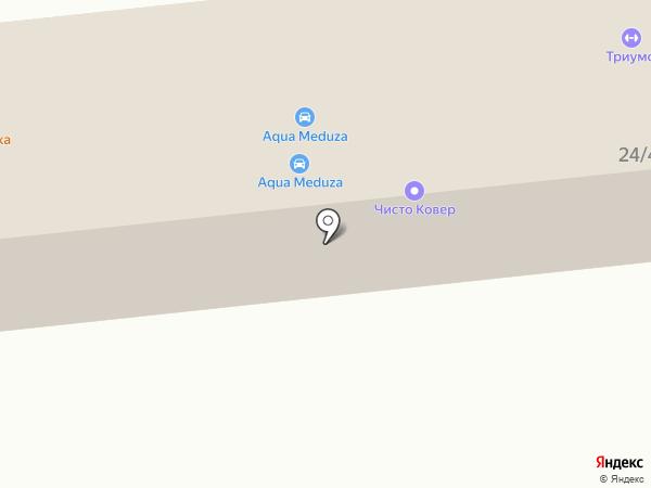 Автогранд на карте Михайловска