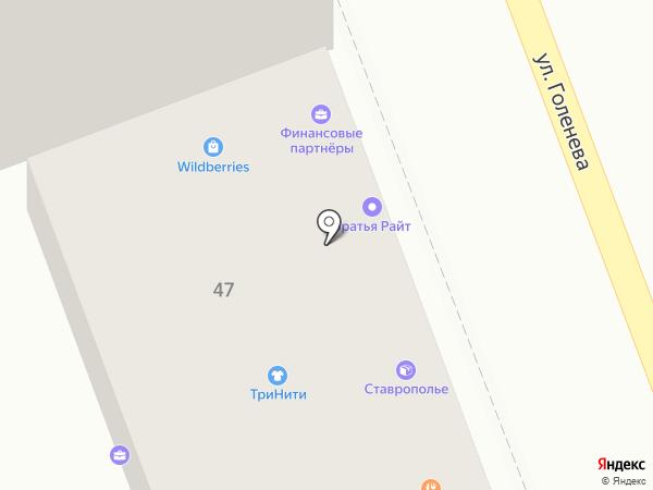 Ставропольская недвижимость на карте Ставрополя