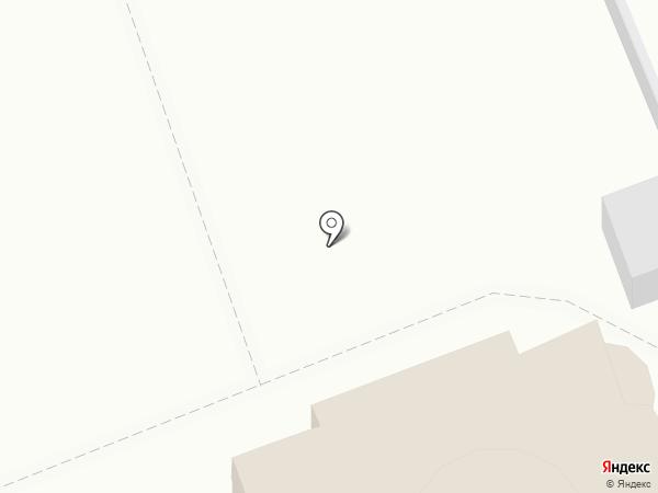 Крестовоздвиженский храм г. Ставрополя на карте Ставрополя
