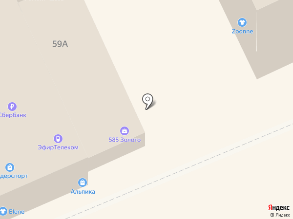 Золотой на карте Ставрополя