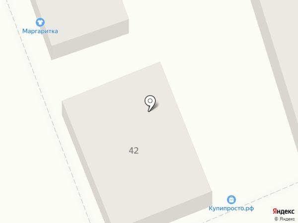 Куриный двор на карте Ставрополя