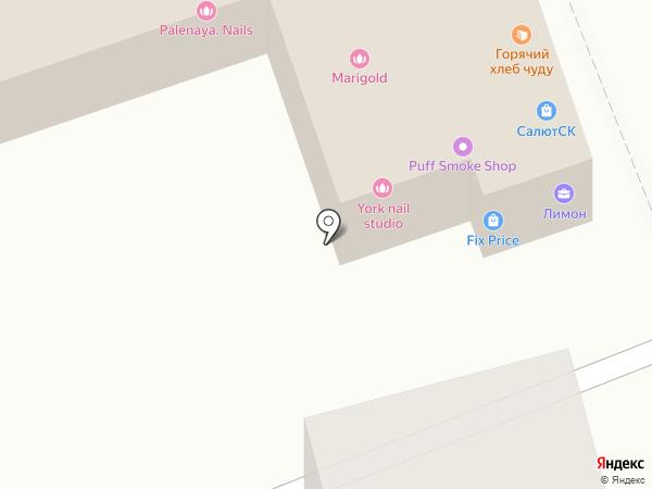 Гарант СК на карте Ставрополя