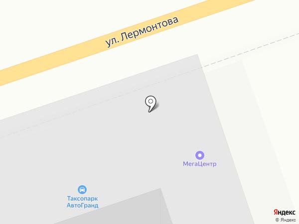 Универмет на карте Ставрополя