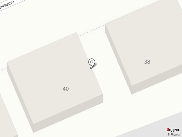 Спутниковые системы на карте Ставрополя