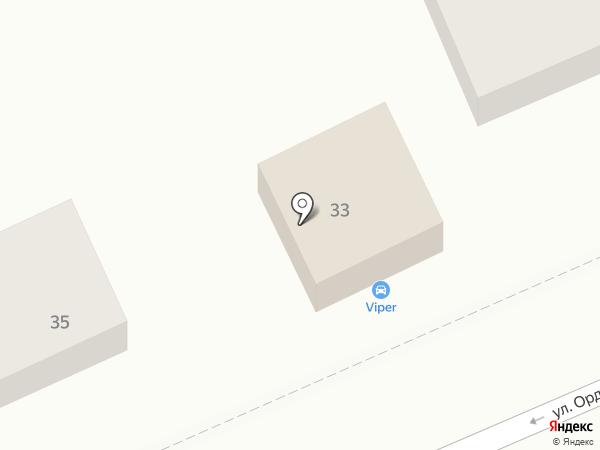 Viper Auto Club на карте Ставрополя
