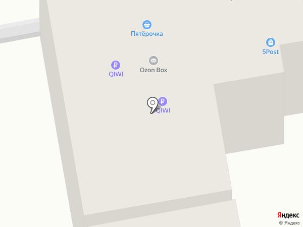 ДоМ на Комсомольской на карте Ставрополя