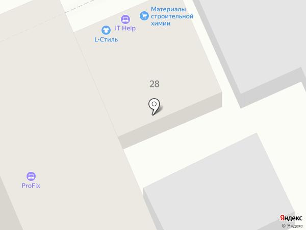 Эос на карте Ставрополя