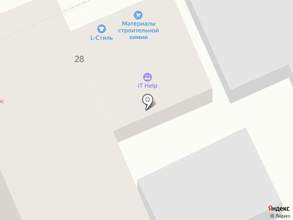 Декоративный камень на карте Ставрополя