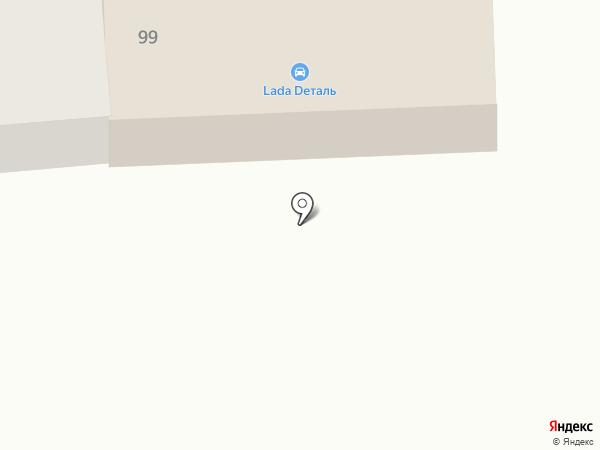 Автомагазин на карте Михайловска