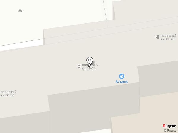 Альфа-Л на карте Ставрополя