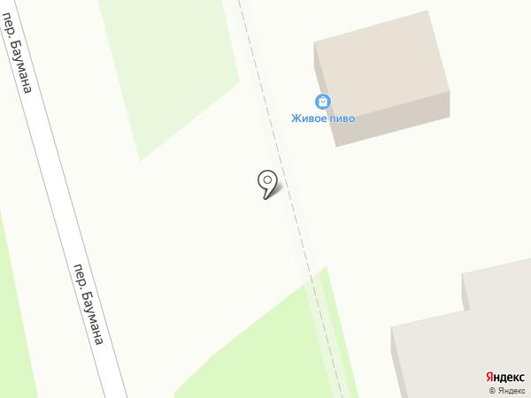 Магазин мясной продукции на карте Ставрополя