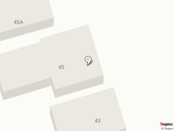 Глонасс-экспресс на карте Ставрополя
