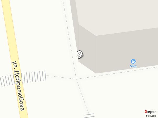 Магазин зоотоваров на карте Ставрополя