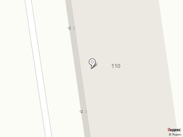 Лиана на карте Ставрополя