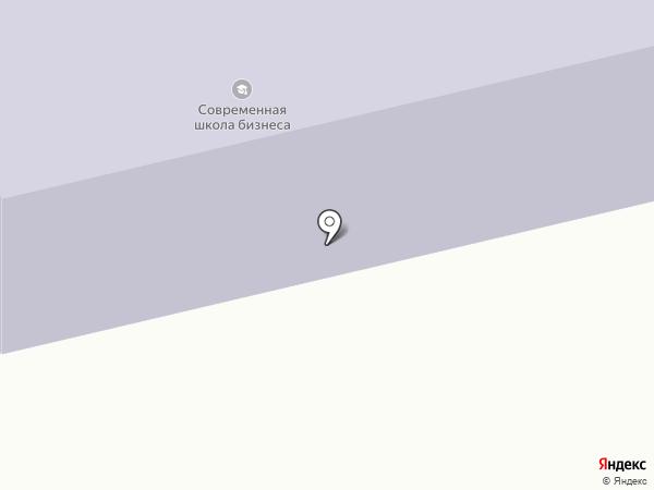 Институт Дружбы народов Кавказа на карте Ставрополя