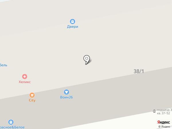 Рыбный причал на карте Михайловска