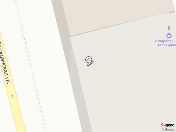 Renner на карте Ставрополя
