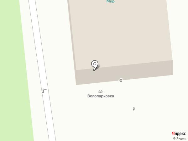 Атлант на карте Ставрополя