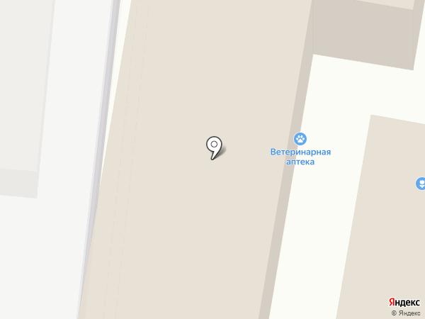 Ветеринарная аптека на карте Ставрополя
