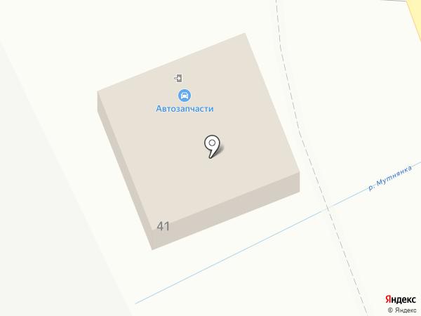 Магазин автомасел на карте Ставрополя