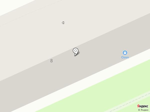 Парикмахерская на карте Ставрополя