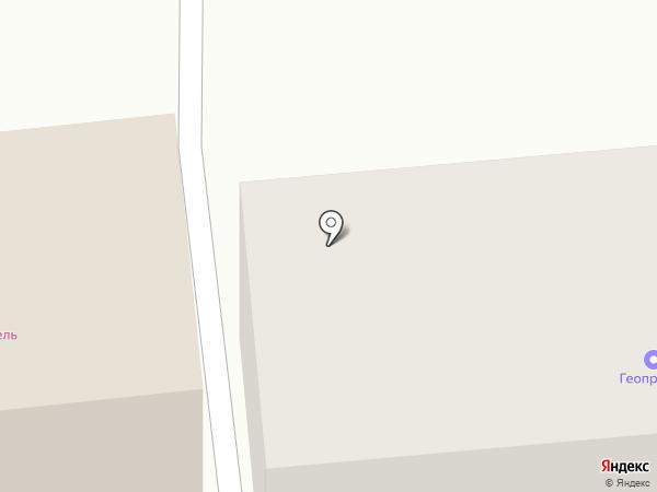 Геовектор на карте Ставрополя